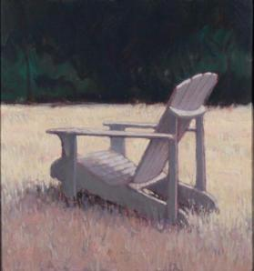 Adirondack Chair in Field