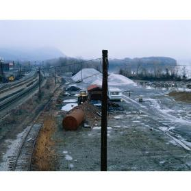 Railyard Adjacent to the Beacon Landing (from the series The Hudson River and the Highlands)