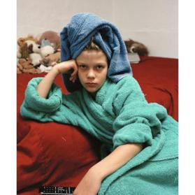 Blue Towel and Remote (from the series Teenagers)