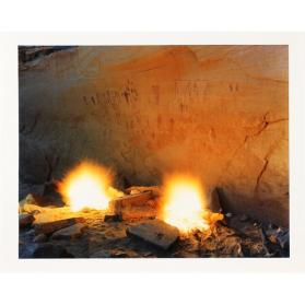 Fires at Green March Ruin, Sheik Canyon, San Juan County, Utah (from the series Marks in Place)