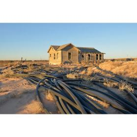 House and Oil Collection Lines, Eddy County, New Mexico