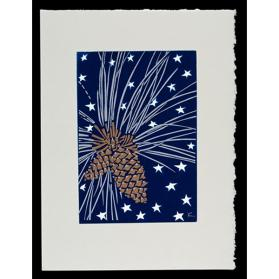 Untitled Holiday Card (Pinecones)