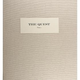 "Linen Portfolio Case for the ""The Quest"""