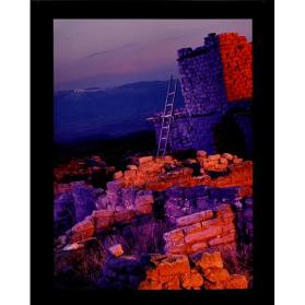 First Light (from the series Puye Cliff Dwelling, New Mexico)