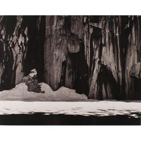 Frozen Lake and Cliffs, Sequoia National Park, California (from Ansel Adams Museum Set Edition)