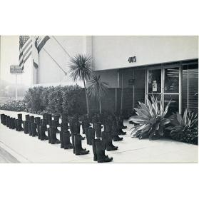 100 Boots At The Bank (Solana Beach, California)