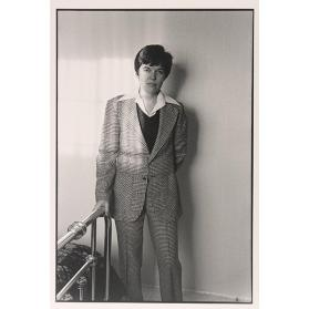 Untitled (Nancy Barry, Larry's Suit)