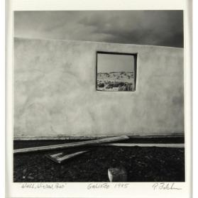 Wall, Window, Pond, Galisteo