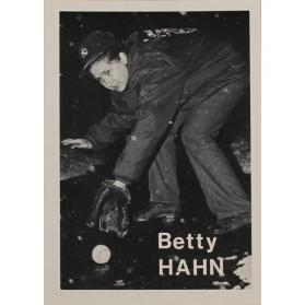 Betty Hahn (from the series The Baseball-Photographer Trading Cards)