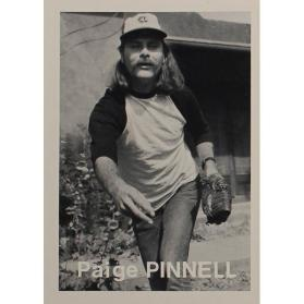 Paige Pinnell (from the series The Baseball-Photographer Trading Cards)