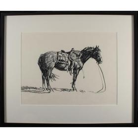 Untitled (Horse Sketch II)