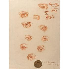 Sketches of Human Eyes