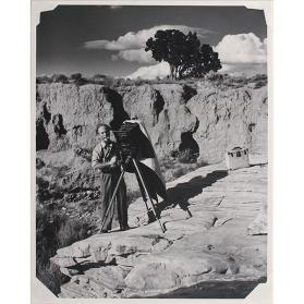 Edward Weston, San Cristobal, New Mexico #10