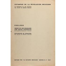 Folleto introductorio (from the portfolio Prints of the Mexican Revolution)