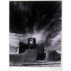 Church at Cordova, New Mexico