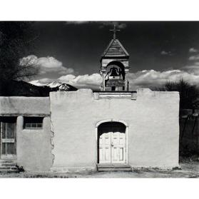 Church, Placita de Taos, New Mexico 1940