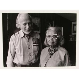 Charles Mattox, Sculptor, and His Wife, Dorothy, 1982