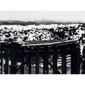 Gate, Truchas, New Mexico