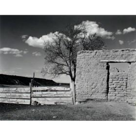Adobe and Corral, Cienaguilla, New Mexico