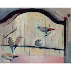 Untitled (Painting of Birds)