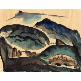 Untitled (New Mexico Mountains)