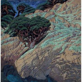 Point Lobos Rock Garden (study)