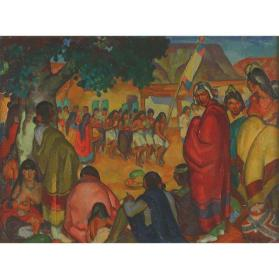 Green Corn Dance, San Ildefonso