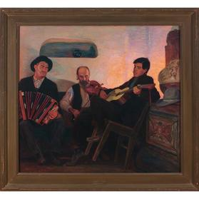 Three Musicians of the Baile