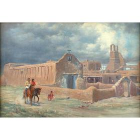 Old Taos Mission (San Geronimo)