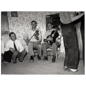 Musicians At A Square Dance, Pie Town, New Mexico