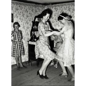 Dancers At A Square Dance, Pie Town, New Mexico