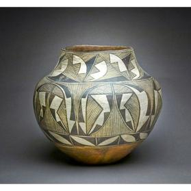 Untitled (Waterproofed Acoma Jar)
