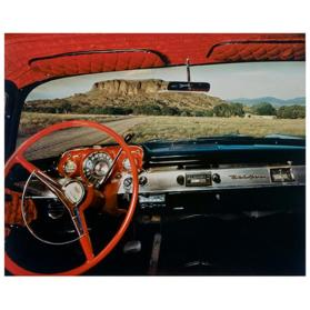 Black Mesa, Looking East From Fred Cata's 1957 Chevrolet Belair