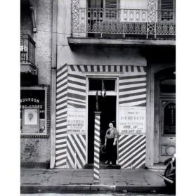 Sidewalk and Shopfront, New Orleans (from Walker Evans, 14 Photographs, 1971)