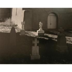 Churchyard, Velarde, New Mexico 1948, (from the Southwest Portfolio)