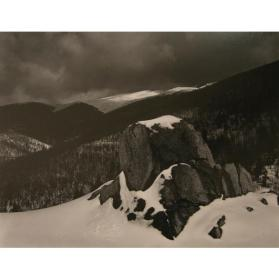 Sangre de Christo Mountains, Hyde Park, New Mexico, 1947, (From the Southwest Portfolio)